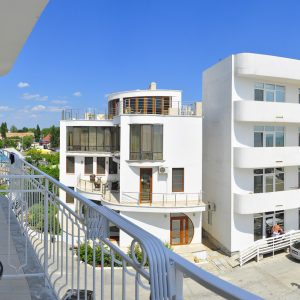 Фото вида с террасы в отеле на Черном море Прибой