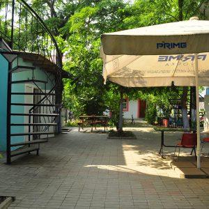 Фото заднего дворика в мини-отеле Курортного Одесской области