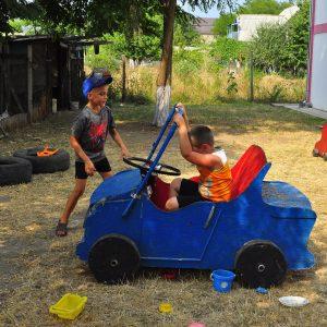 Фото детской машинки в отеле Курортного на Черном море