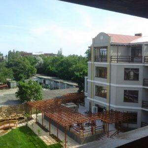 Фото вида с балкона номера представительского на базе отдыха Калина