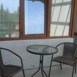 Фото балкона номера представительского в отеле в Сергеевке