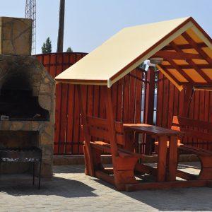 Фото мангала в кемпинге Престиж для отдыха в Коблево на Черном море