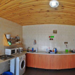 Фото кухни на базе отдыха в Коблево на Черном море