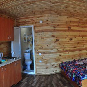 Фото 4-х местного номера на базе отдыха в Коблево Николаевской области