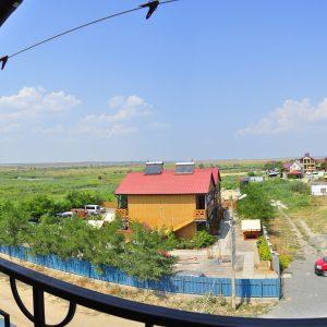 Фото вида с балкона в кемпинге Престиж в Коблево на Черном море