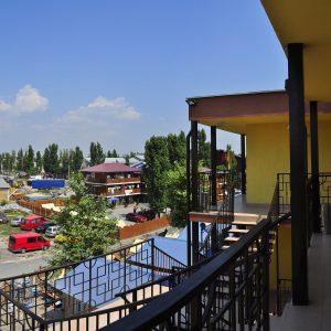 Фото террасы в кемпинге для отдыха в Коблево Престиж