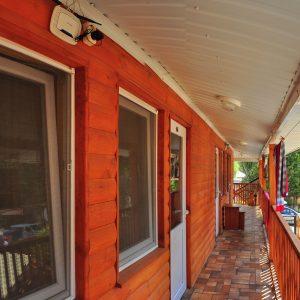 Фото балкона в кемпинге Ромашка в Коблево Николаевской области