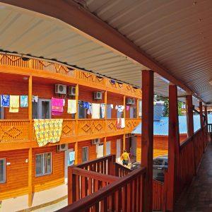 Фото террасы в кемпинге Ромашка в Коблево Николаевской области