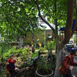 Фото территории в частном пансионе в Курортном У Кузи