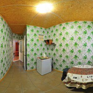 Фото кухни в люксе на базе отдыха Приморье на Черном море