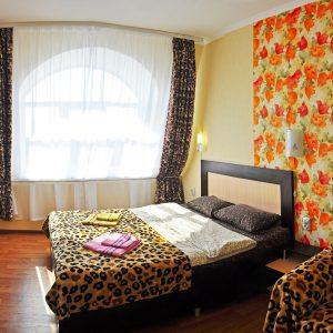 Фото номера люкса улучшенного для отдыха на Черном море