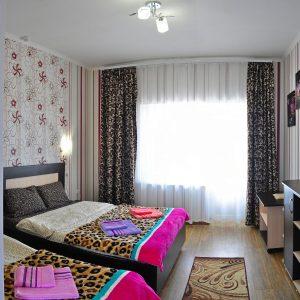Фото люкса трехместного в гостинице Дольче-Вита в Приморском