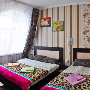 Фото люкса 2-х комнатного в гостинице на Черном море
