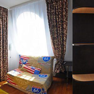 Фото люкса улучшенного в гостинице на Черном море в Украине
