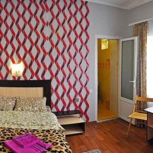 Фото люкса 2-х местного в гостинице Приморского в Украине