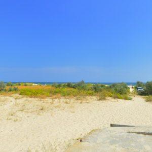 Фото пляжа в гостинице в Приморском Фиеста