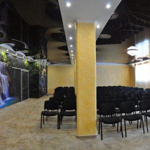 Фото конференц-зала на базе отдыха в Коблево Лагуна