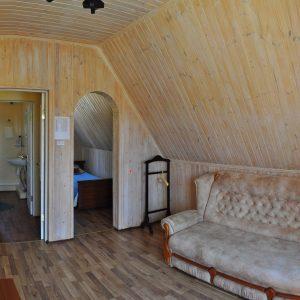 Фото номера люкс в отеле в Коблево на Черном море