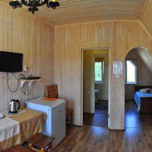 Фото номера люкс в комплексе для отдыха в Коблево на Черном море