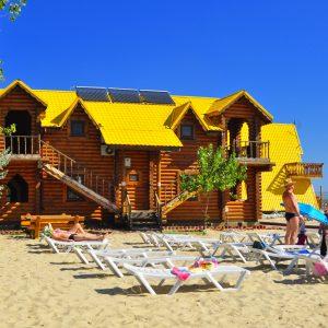 Фото домика у моря в Затоке Одесской области