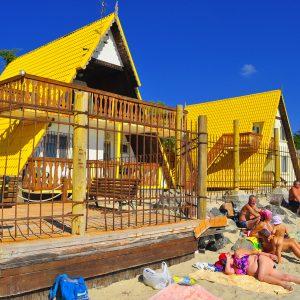 Фото вида с пляжа для отдыха в Затоке