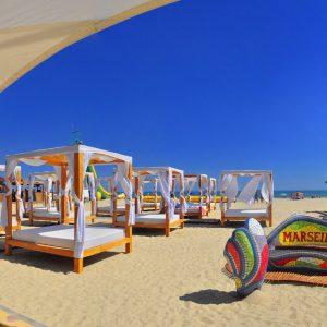 Фото пляжа днем отеля на черноморском побережье