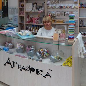 Фото магазина ткани и фурнитуры Аграфка во Львове